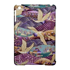 Textile Fabric Cloth Pattern Apple Ipad Mini Hardshell Case (compatible With Smart Cover) by Celenk