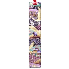Textile Fabric Cloth Pattern Large Book Marks by Celenk