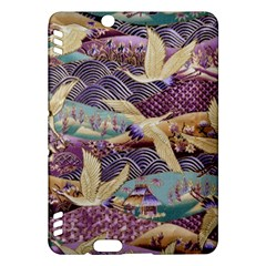 Textile Fabric Cloth Pattern Kindle Fire Hdx Hardshell Case