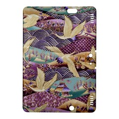 Textile Fabric Cloth Pattern Kindle Fire Hdx 8 9  Hardshell Case by Celenk