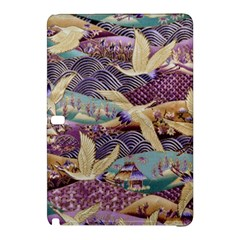 Textile Fabric Cloth Pattern Samsung Galaxy Tab Pro 10 1 Hardshell Case by Celenk