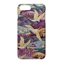 Textile Fabric Cloth Pattern Apple Iphone 8 Plus Hardshell Case by Celenk