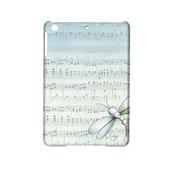 Vintage Blue Music Notes Ipad Mini 2 Hardshell Cases by Celenk