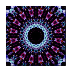 Kaleidoscope Shape Abstract Design Tile Coasters by Celenk