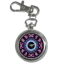 Kaleidoscope Shape Abstract Design Key Chain Watches by Celenk