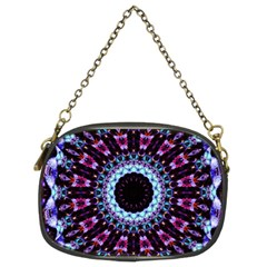 Kaleidoscope Shape Abstract Design Chain Purses (two Sides)  by Celenk