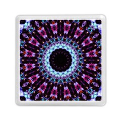 Kaleidoscope Shape Abstract Design Memory Card Reader (square)  by Celenk