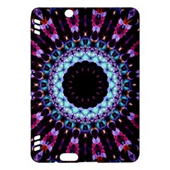 Kaleidoscope Shape Abstract Design Kindle Fire Hdx Hardshell Case by Celenk