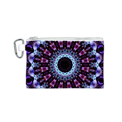 Kaleidoscope Shape Abstract Design Canvas Cosmetic Bag (s) by Celenk