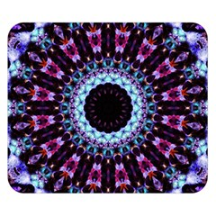 Kaleidoscope Shape Abstract Design Double Sided Flano Blanket (small)  by Celenk