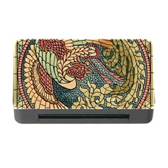 Wings Feathers Cubism Mosaic Memory Card Reader With Cf by Celenk