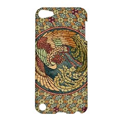 Wings Feathers Cubism Mosaic Apple Ipod Touch 5 Hardshell Case by Celenk