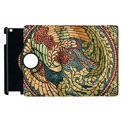 Wings Feathers Cubism Mosaic Apple Ipad 2 Flip 360 Case by Celenk