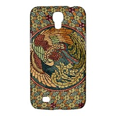 Wings Feathers Cubism Mosaic Samsung Galaxy Mega 6 3  I9200 Hardshell Case by Celenk