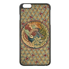 Wings Feathers Cubism Mosaic Apple Iphone 6 Plus/6s Plus Black Enamel Case by Celenk