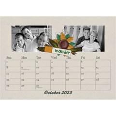 Desktop Calendar 8 5x6, Family By Mikki Oct 2019