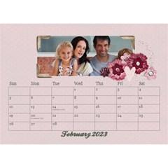 Desktop Calendar 8 5x6, Family By Mikki Feb 2019