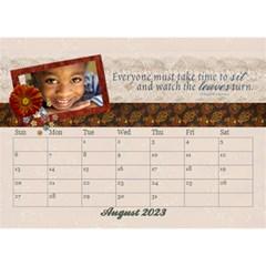 Desktop Calendar 8 5x6, Family By Mikki Aug 2019
