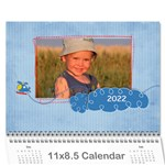 For the Boys/Father any theme-12 month calendar - Wall Calendar 11  x 8.5  (12-Months)