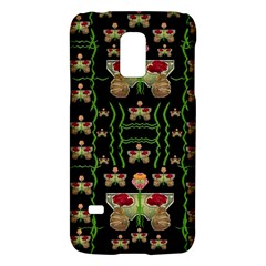 Roses In The Soft Hands Makes A Smile Pop Art Galaxy S5 Mini by pepitasart