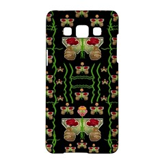 Roses In The Soft Hands Makes A Smile Pop Art Samsung Galaxy A5 Hardshell Case  by pepitasart