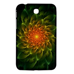 Beautiful Orange Green Desert Cactus Fractalspiral Samsung Galaxy Tab 3 (7 ) P3200 Hardshell Case  by jayaprime