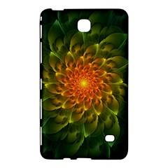 Beautiful Orange Green Desert Cactus Fractalspiral Samsung Galaxy Tab 4 (7 ) Hardshell Case  by jayaprime
