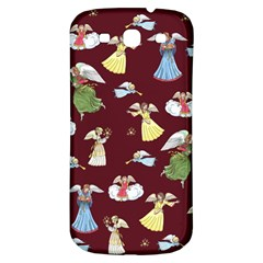 Christmas Angels  Samsung Galaxy S3 S Iii Classic Hardshell Back Case by Valentinaart