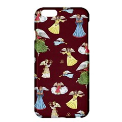 Christmas Angels  Apple Iphone 6 Plus/6s Plus Hardshell Case by Valentinaart