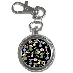 Christmas Angels  Key Chain Watches by Valentinaart