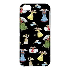 Christmas Angels  Apple Iphone 5c Hardshell Case by Valentinaart