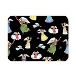 Christmas angels  Double Sided Flano Blanket (Mini)  35 x27 Blanket Back