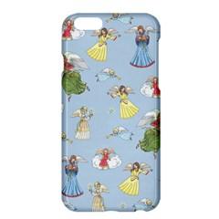 Christmas Angels  Apple Iphone 6 Plus/6s Plus Hardshell Case by Valentinaart