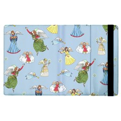 Christmas Angels  Apple Ipad Pro 9 7   Flip Case by Valentinaart