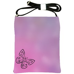 Butterfly Shoulder Sling Bags by PhotoThisxyz
