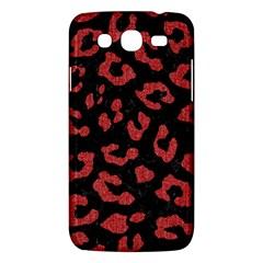 Skin5 Black Marble & Red Denim Samsung Galaxy Mega 5 8 I9152 Hardshell Case