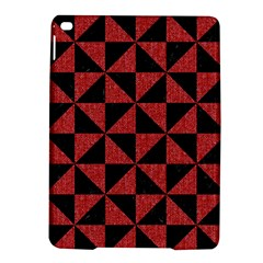 Triangle1 Black Marble & Red Denim Ipad Air 2 Hardshell Cases by trendistuff