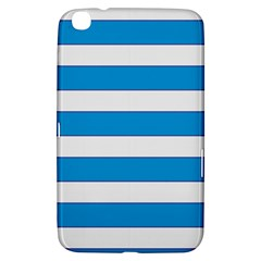 Blue And White Lines Samsung Galaxy Tab 3 (8 ) T3100 Hardshell Case  by berwies