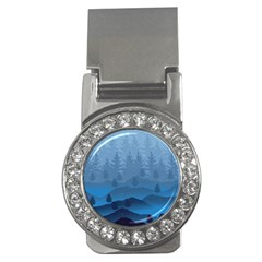 Blue Mountain Money Clips (cz)  by berwies