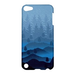 Blue Mountain Apple Ipod Touch 5 Hardshell Case by berwies