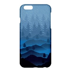 Blue Mountain Apple Iphone 6 Plus/6s Plus Hardshell Case by berwies