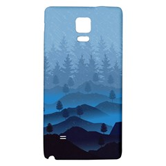 Blue Mountain Galaxy Note 4 Back Case by berwies