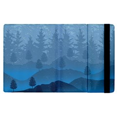 Blue Mountain Apple Ipad Pro 9 7   Flip Case by berwies