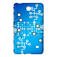 Block Chain Data Records Concept Samsung Galaxy Tab 4 (7 ) Hardshell Case  by Celenk
