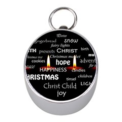 Candles Christmas Advent Light Mini Silver Compasses by Celenk
