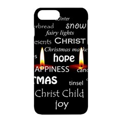 Candles Christmas Advent Light Apple Iphone 8 Plus Hardshell Case by Celenk