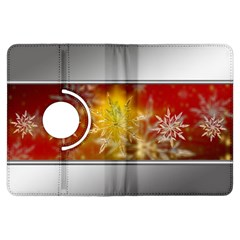 Christmas Candles Christmas Card Kindle Fire Hdx Flip 360 Case by Celenk