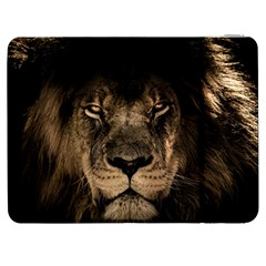 African Lion Mane Close Eyes Samsung Galaxy Tab 7  P1000 Flip Case by Celenk