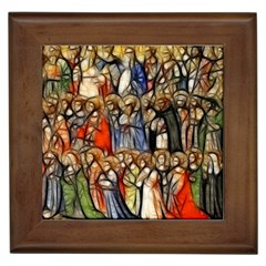 All Saints Christian Holy Faith Framed Tiles by Celenk
