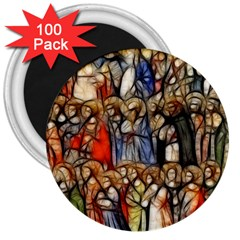 All Saints Christian Holy Faith 3  Magnets (100 Pack) by Celenk